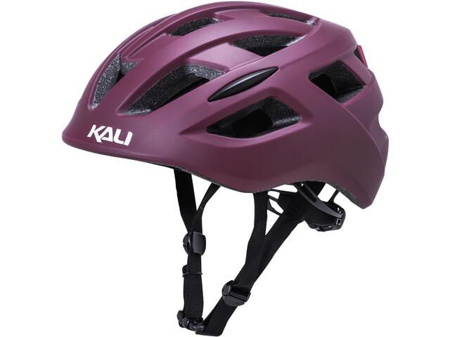 Kali Central Casco de bicicleta, matte purple